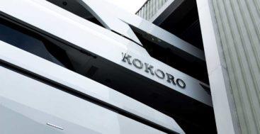 Kokoro is a sistership to the Moonen megayacht Brigadoon