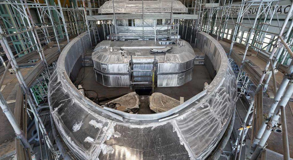 the Rosetti 38m EXP megayacht