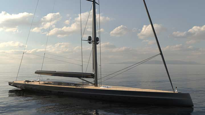 Apex 850 should be the world's largest superyacht sloop