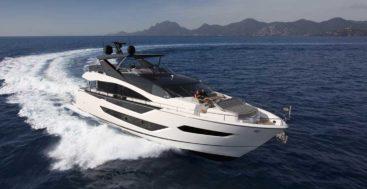 the Sunseeker 88 Yacht megayacht debuts in 2020