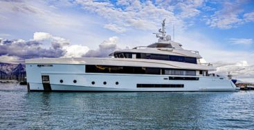 The Italian Sea Group launched the superyacht Crocus in September 2020