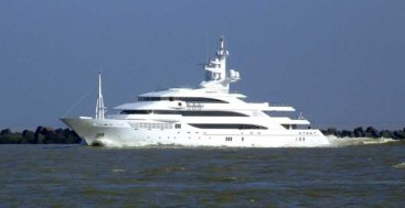 Amevi became the first megayacht in Indonesia under COVID clerances