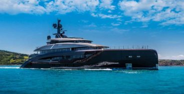 Voice is a 62-meter megayacht from CRN
