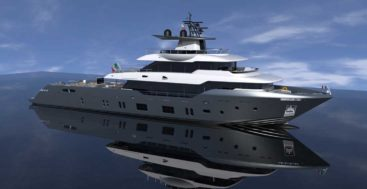 Canados is building its largest megayacht, the Oceanic 140