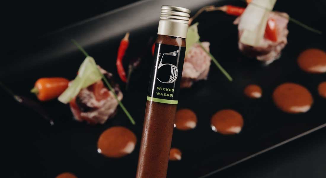Taste Chilli No. 5 Sauces, Created by a Superyacht Chef