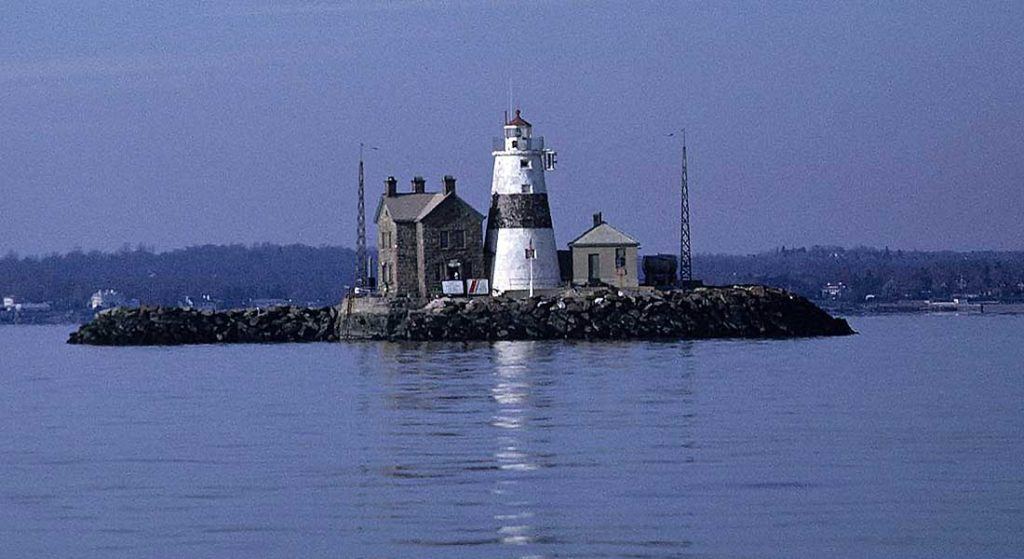 Execution Rocks Lighthouse is among 5 Haunted Sites in Popular Cruising Regions for megayachts