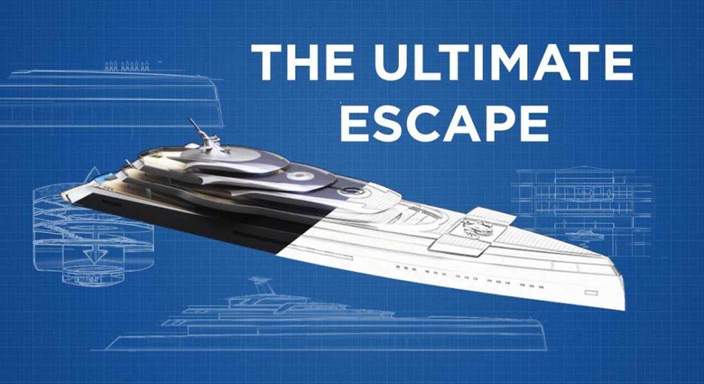 Feadship's Escape is a cool superyacht concept