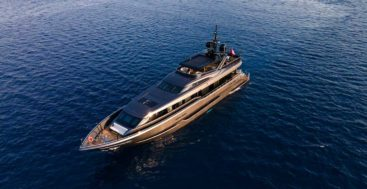 Sea Star is a wood and epoxy megayacht