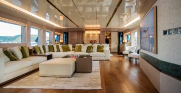 this megayacht is the first Numarine 32XP with Hot Lab