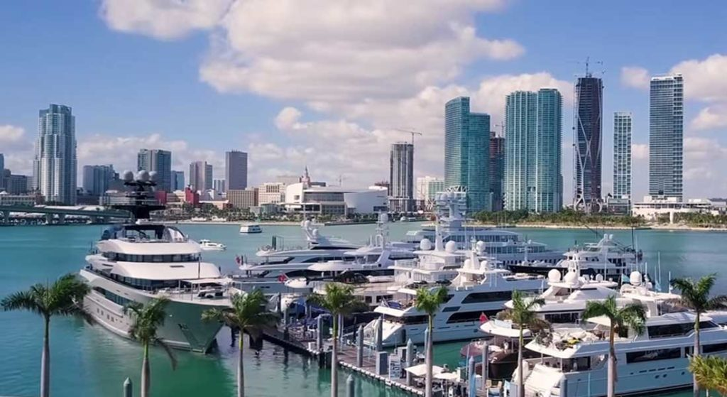 Yacht Haven Grande Island Gardens Marina is the new name for the superyacht marina on Miami's Watson Island