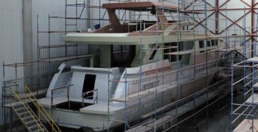 the Bering 92 megayacht should be ready in August 2021