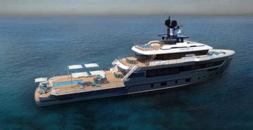 CdM's newest Flexplorer is the megayacht Maverick