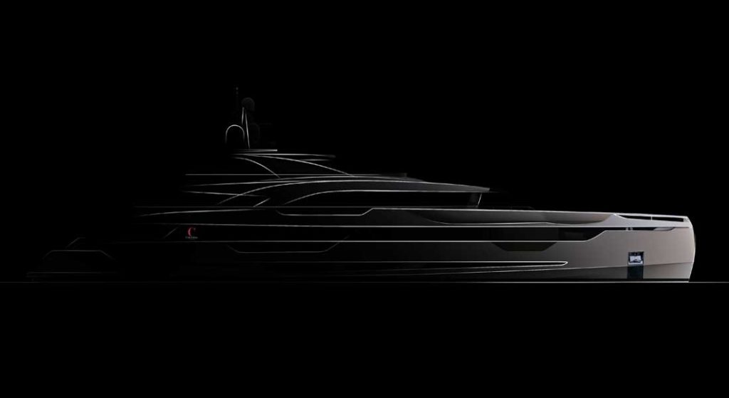 Columbus Yachts has the code-named megayacht project Lady in build