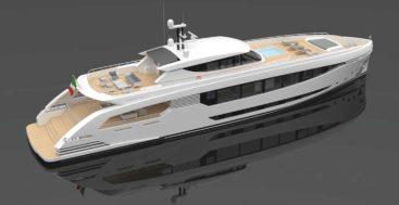 Design Studio Spadolini created the superyacht proposal Montecristo 43