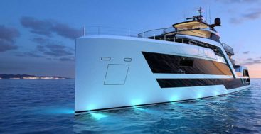 Hydro Tec's Vanguard explorer superyacht concept is dramatically different