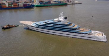 Kaos is the new name for the ex-Jubilee superyacht, refitted by Lurssen