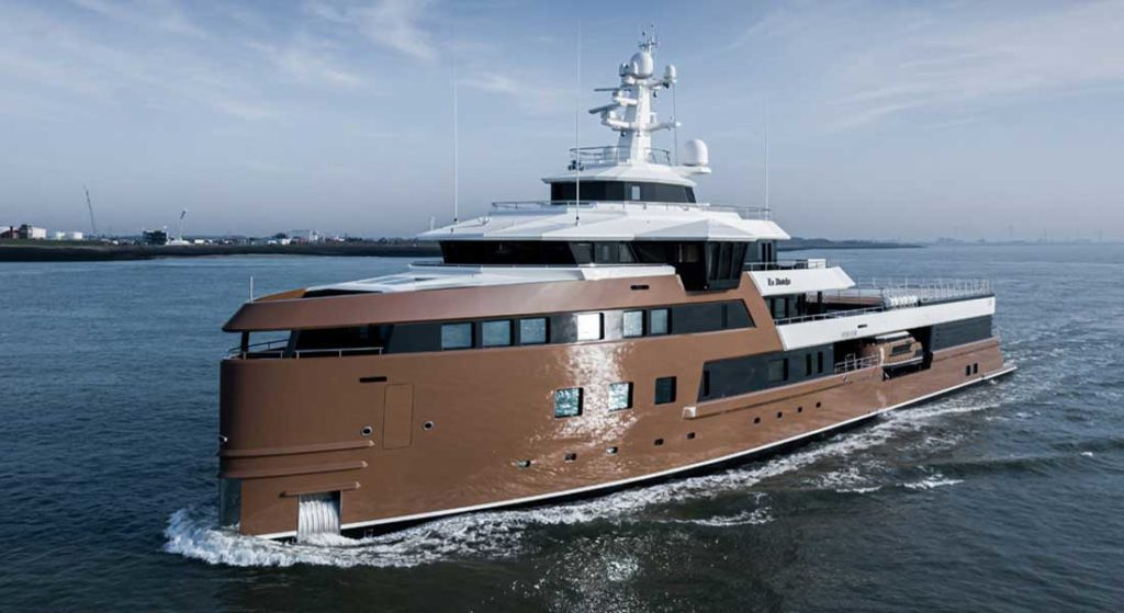 La Datcha starts her extraordinary superyacht charter itinerary in 2020