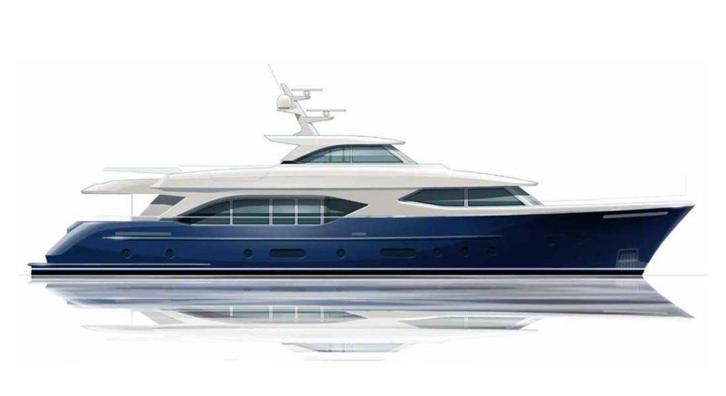 the Moonen 110 is a megayacht concept