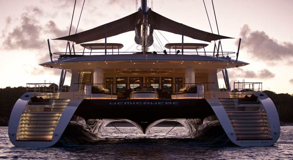 Pendennis' Hemisphere is among space-themed superyachts