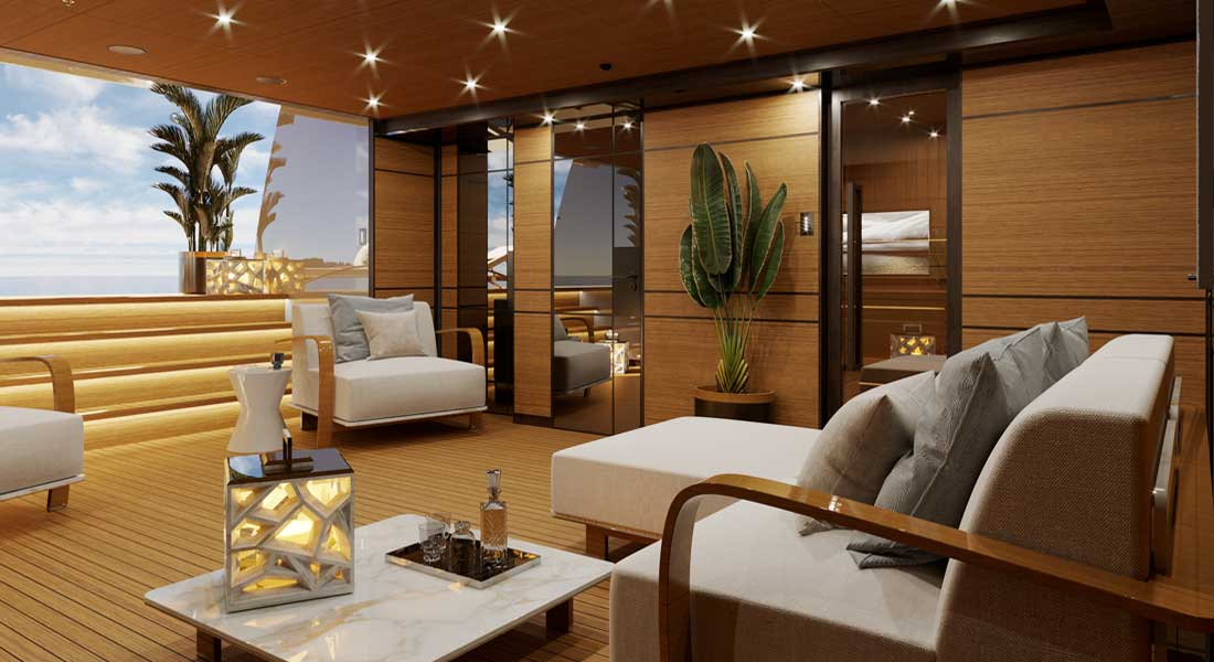 Project Gemini, 1st Heesen With Luca Dini Design Details