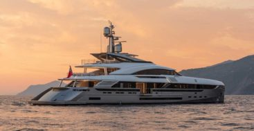 EIV is a megayacht from Rossinavi for American owners