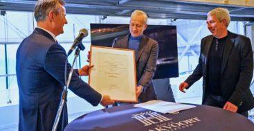 megayacht builder Royal Hakvoort Shipyard received the Royal honor in 2020