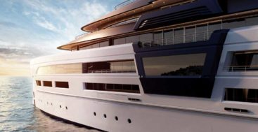 the Ultra2 concept puts a safe room aboard the megayacht