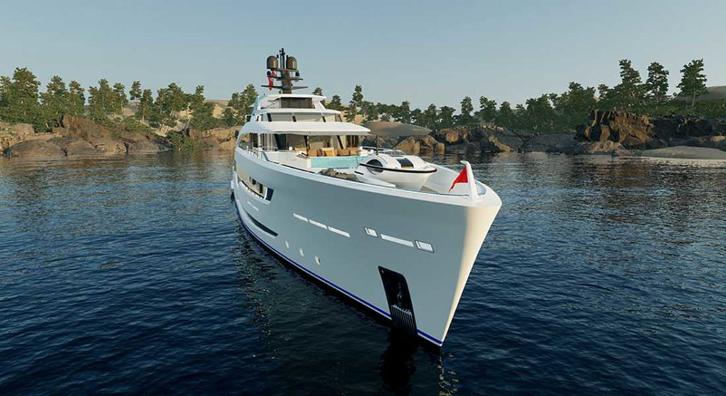 Alia Yachts plans to deliver the superyacht Al Waab II in July 2021