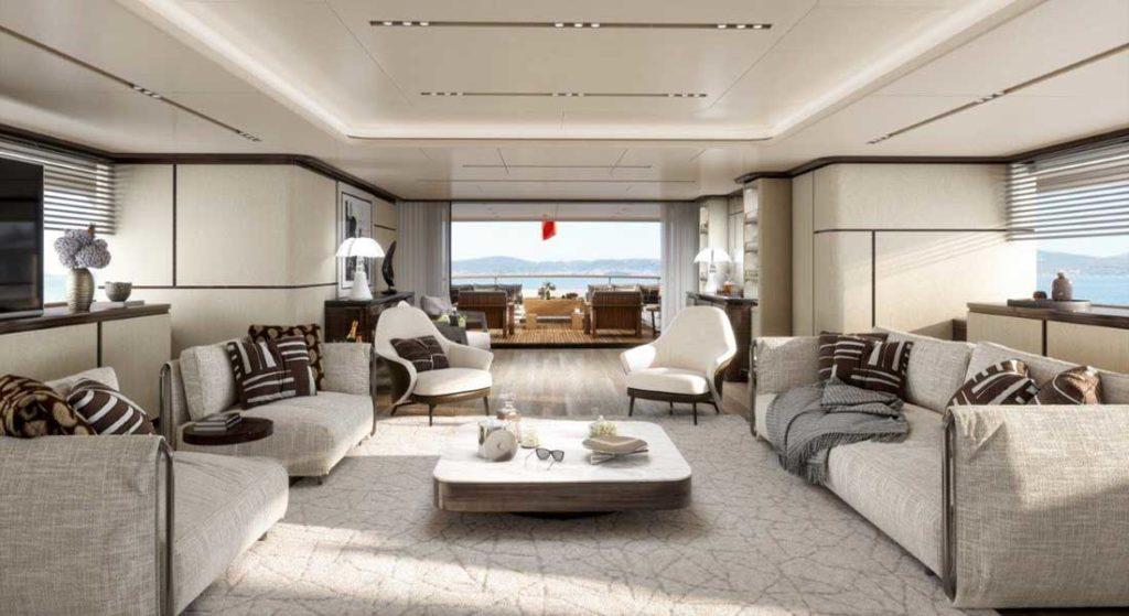 Benetti FB284, aka Project Rinascimento, is a megayacht proposal