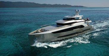 the Burger 120 Raised Pilothouse Motor Yacht is a megayacht with surprises