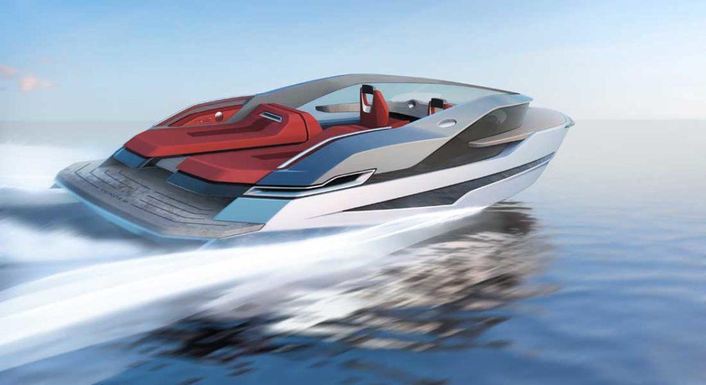 Dominator Yachts created the Mini Ilumen tender for a megayacht customer