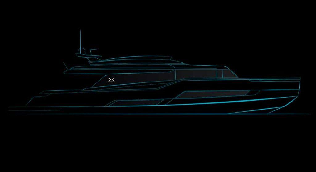 the Extra 99 is the latest Extra Yachts megayacht model, sold to an American
