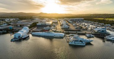 Gold Coast City Marina & Shipyard received accolades from superyacht captains and crew