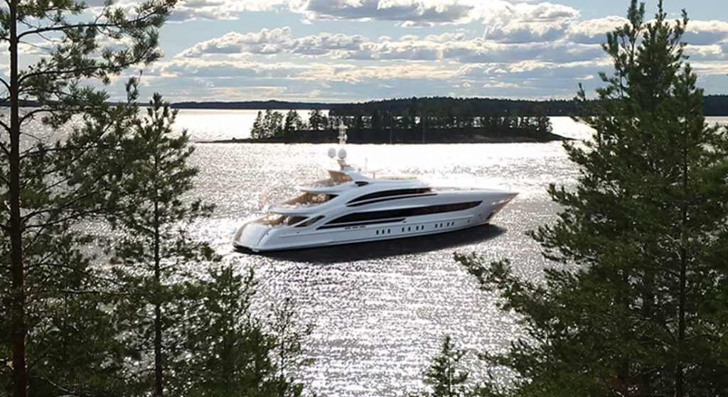 Heesen's Project Oslo24 is a highly customized megayacht