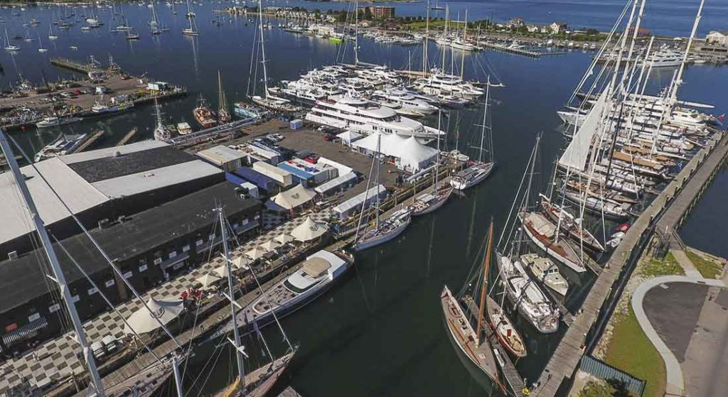 Foreign-flagged yachts can now be bought and sold duty-free at Newport Shipyard. The Rhode Island-based marina has a new foreign-trade zone