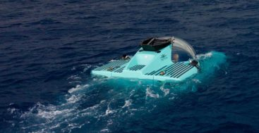 the first Triton 3300/6 personal submarine is for a 142-meter Lurssen megayacht