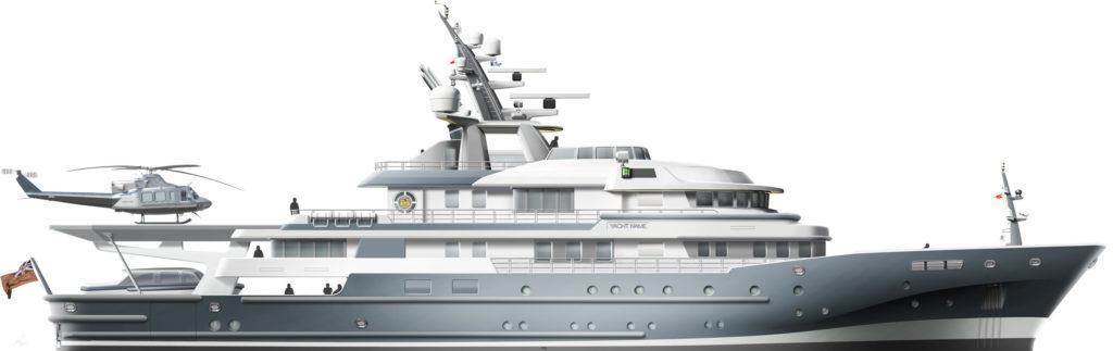 Ocean Xplorer 71 megayacht conversion