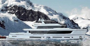the Arkin Pruva Explorer Ice Class superyacht