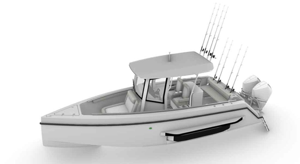Iguana Yachts' X Fisher is an amphibious boat that may appeal to megayacht owners
