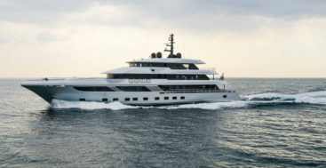 the Majesty 175 is Gulf Craft's largest superyacht