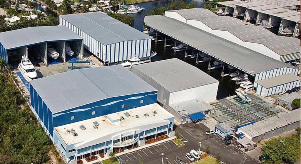 the megayacht business of Roscioli Yachting Center has changed hands
