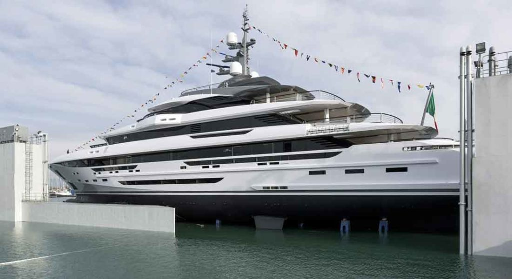Rossinavi's Launch Polaris Is for Polar Conditions, unusual for a superyacht
