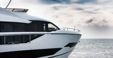 the Sunseeker 90 Ocean sea trials should see the megayacht completed soon