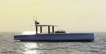 the Swan Shadow is a chase boat for Nautor's Swan sailing superyacht owners