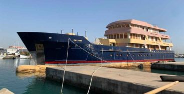 Ulucitcan is a megayacht started at Newcastle Shipyards and being finished at Dunya Yachts