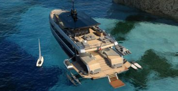 the Wally WHY200 solves a space need for megayacht buyers