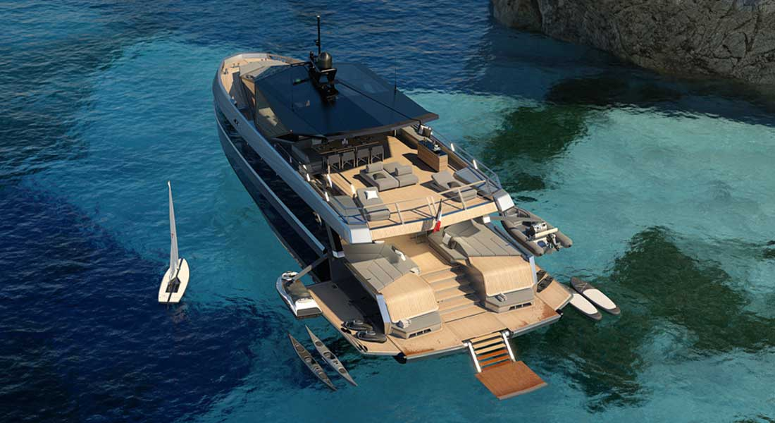 Wally WHY200 and the Quest for Space: Sunday Superyacht Video