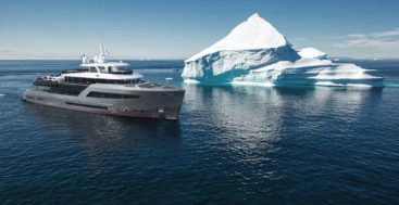 the Bering 145 series is the flagship megayacht for Bering Yachts