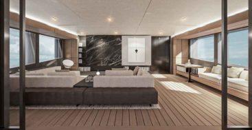 Conrad C144S megayacht interior