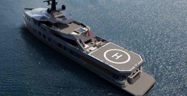 this custom Damen SeaXplorer 58 megayacht sees delivery in 2022